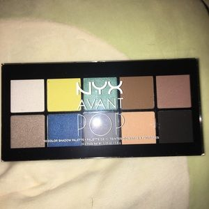 NYX Avant POP eyeshadow palette